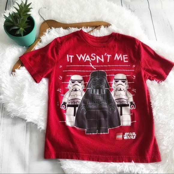 95e734afc Star Wars Shirts & Tops | Boys It Wasnt Me Tee Size 67 | Poshmark